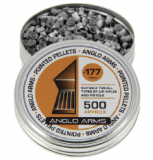 Tin Of 500 .22 5.5mm pointed pellets